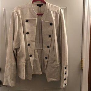 NWOT torrid ponte military jacket